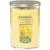 Yankee Candle Flowers in the Sun Large 2 Wick Tumbler Candle