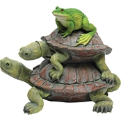 Design Toscano Frog and Turtles Statue