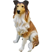 Design Toscano Long-Haired Collie Statue