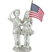 Design Toscano Patriotic Flag Children