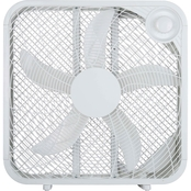 Pelonis 20 In. Box Fan, White