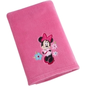 Disney Minnie Blanket with Applique