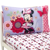 Disney Minnie Bow Power Toddler Sheet Set