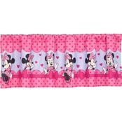 Disney Minnie Bow Power Window Valance