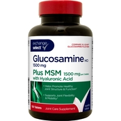 Exchange Select Glucosamine HCL 1500 mg with MSM 1500 mg, 20 Pk.
