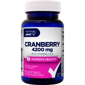 Exchange Select Cranberry 4200 mg with Vitamins C and E Softgel, 100 Ct.