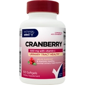 Exchange Select Cranberry with Vitamin C Softgel 500mg, 100 Pk.
