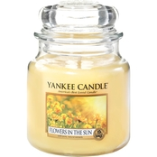 Yankee Candle Flowers in the Sun Medium Classic Jar Candle