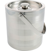 Cambridge Ellison Satin Stripe 3 Qt. Double Wall Insulated Ice Bucket