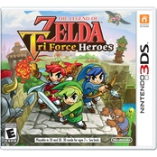 The Legend of Zelda: Tri Force Heroes 3D (3DS)