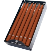 Colonial Candle Amber 12 in. Handipt Tapers 12 pk.