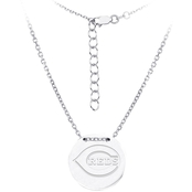 Sterling Silver MLB Cincinnati Reds Tailored Necklace With 16 In. Chain
