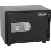 Honeywell 0.55 Cu. Ft. Water Resistant Steel Fire and Security Safe