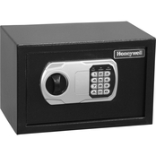 Honeywell 0.27 Cu. Ft. Steel Small Security Safe