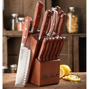 Pioneer Woman Cowboy Rustic 14 Pc. Cutlery Set