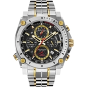 Bulova Men's Precisionist Chronograph Watch 46.5mm