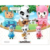 Nintendo amiibo Figures: Animal Crossing Series 3 pk.