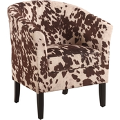 Linon Simon Club Chair, Udder Madness