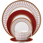 Wedgwood Renaissance Red 5 Pc. Place Setting