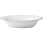Vera Wang Wedgwood Golden Grosgrain Open Vegetable Dish