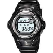 Casio Women's Baby G-Shock 100M Tough Sport Model Chronograph 45.9mm BG-169R-8CR
