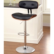 Furniture Of America Boa Adjustable Swivel Stool