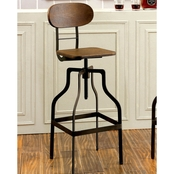 Furniture Of America Adjustable Swivel Stool
