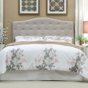 Furniture of America Contemporary Button Tufted Headboard