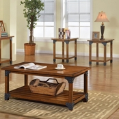 Furniture of America Bozeman Cocktail and End Table 3 Pc. Set