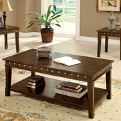 Furniture of America Fenwick Cocktail And End Table 3 Pc. Set