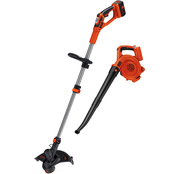 Black & Decker 40V MAX* Lithium String Trimmer + Sweeper Combo Kit