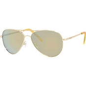 Polaroid Metal Aviator Polarized Sunglasses PLD6012N