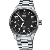 Oris Men's ProPilot Date Watch with Metal Bracelet 74877104164MB