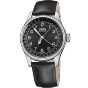 Oris Men's Big Crown Original Pointer Date Watch with Leather Strap 75476964064LS