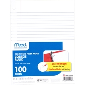 Mead Reinforced Filler Paper 100 ct.