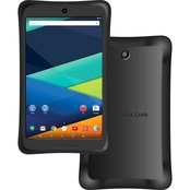 Visual Land Prestige Elite 8QI 8 In. 16GB Android 5 Tablet Black with Bumper