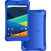 Visual Land Prestige Elite 8QI 8 In. 16GB Android 5 Tablet Blue with Bumper