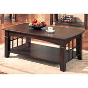 Coaster Abernathy Rectangular Coffee Table