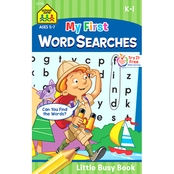 School Zone My First Word Searches Little Busy Book