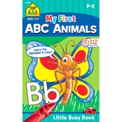 School Zone My First ABC Animals Little Busy Book