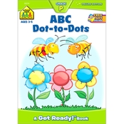 School Zone ABC Dots-to-Dots Grade P Deluxe Edition Workbook