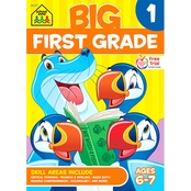 School Zone Big First Grade Workbook