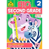 School Zone Big Second Grade Workbook