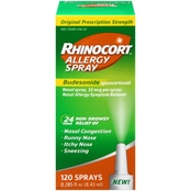 Rhinocort Allergy Spray, 120 Sprays