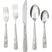 Cambridge Conquest Sand 30 pc. Flatware Set