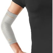 Tommie Copper Womens Elbow Sleeve, Silver