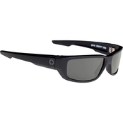 Spy Optic Dirty Mo Plastic Rectangle Happy Lens Polarized Sunglasses 670937219864