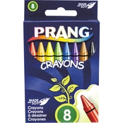 Prang Crayons Made With Soy 8 Pk.