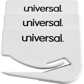 Universal Letter Slitter Hand Letter Opener with Concealed Blade 3 pk.