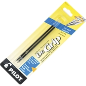 Pilot Refill for Better/EasyTouch/Dr. Grip Ball Point Pens, Fine Tip 2 pk.